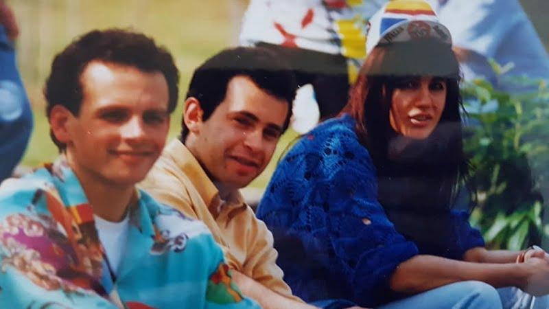 tifosi a bordo strada anno 1994